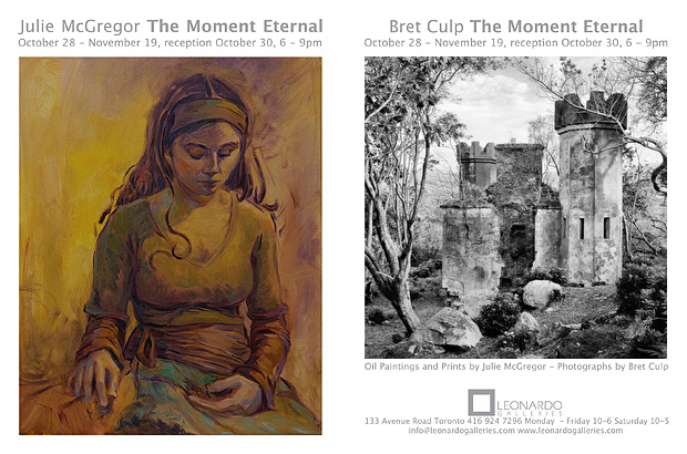 The Moment Eternal exhibition at Leonardo Gallery