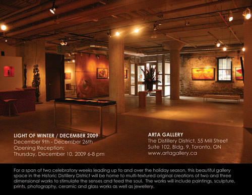 Light Of Winter Show at Distillery District in Toronto